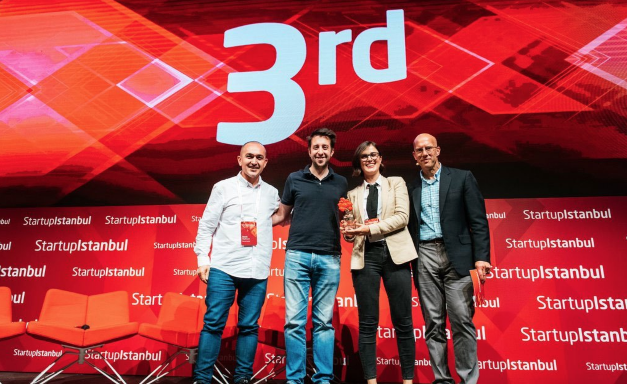 Iyris Wins 3rd Place in the Istanbul Startup 2018 - 26/10/18Recently Derya Baran from the Iyris team participated in the Istanbul Statup 2018 competition and they finished third overall! Great Work!