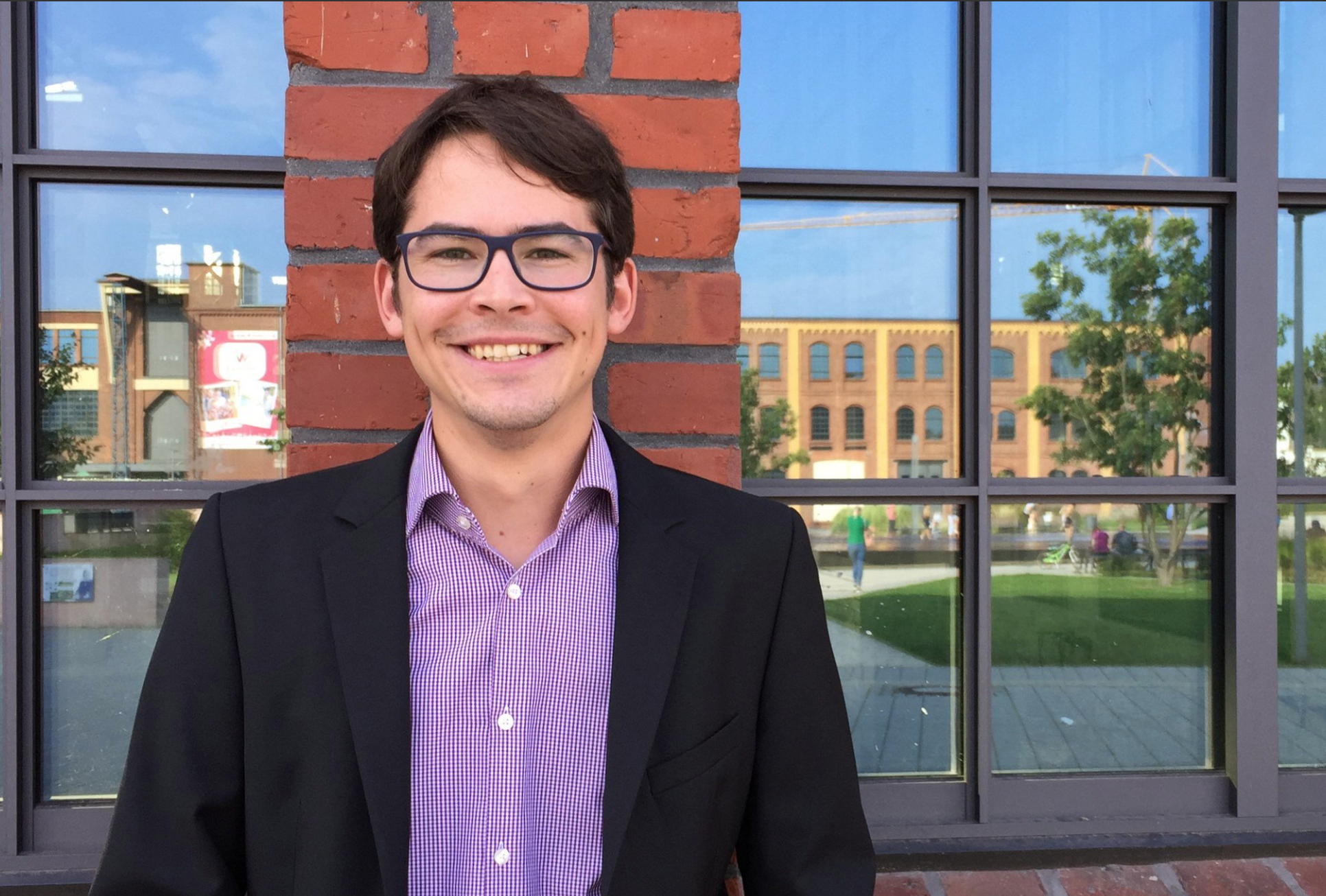 Welcome Stefan! - 30/9/18Welcome Stefan Schlisske! Our new visiting student who joined us from KIT Karlsruhe, Germany. His research interests include organic electronics and improving the printing of functional materials by controlling the physical and chemical surface properties of substrates.