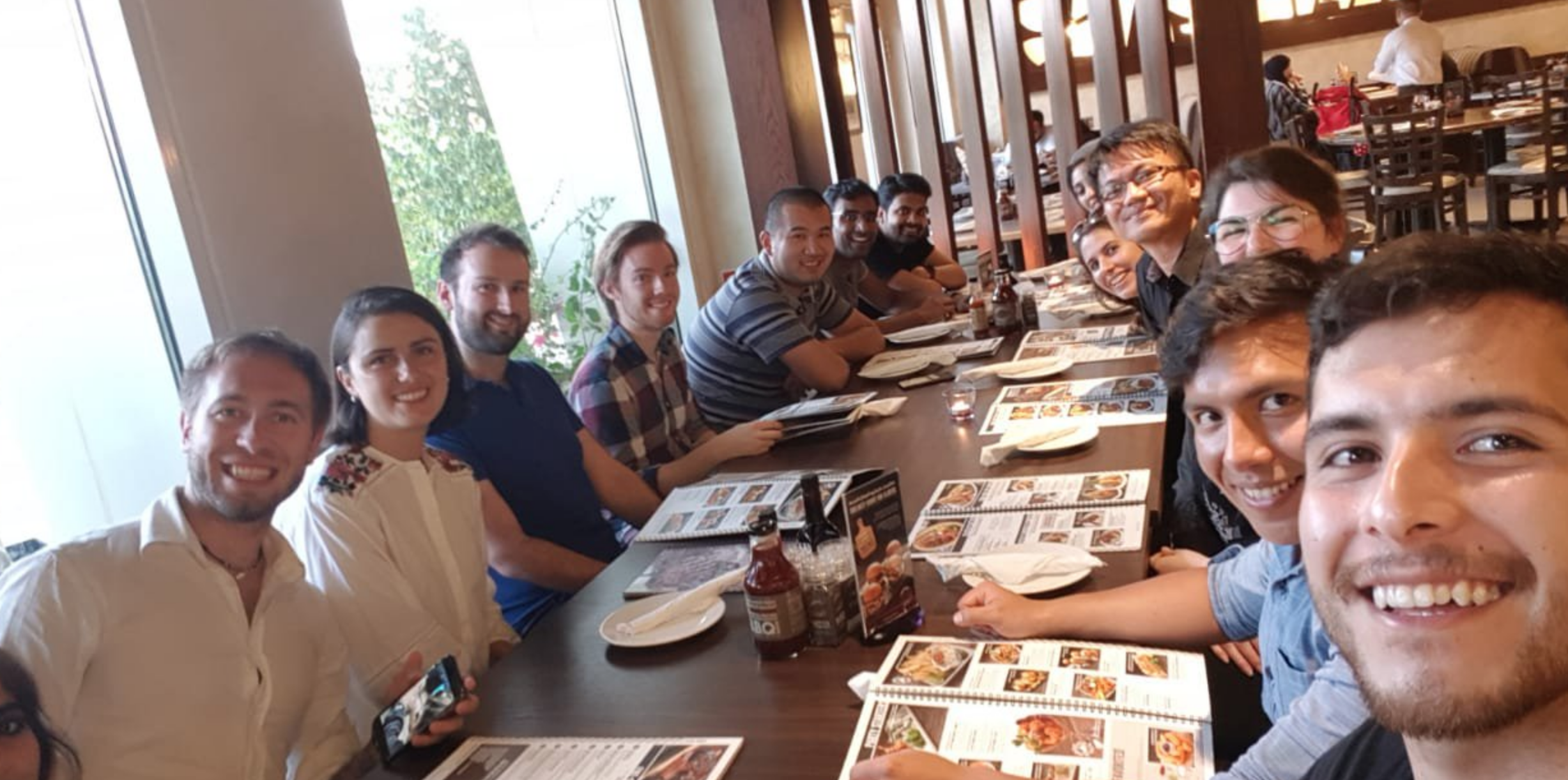 Group Dinner at KAEC! - 15/7/18OMEGA Lab enjoyed a lovely dinner and evening at a nearby city called KAEC.