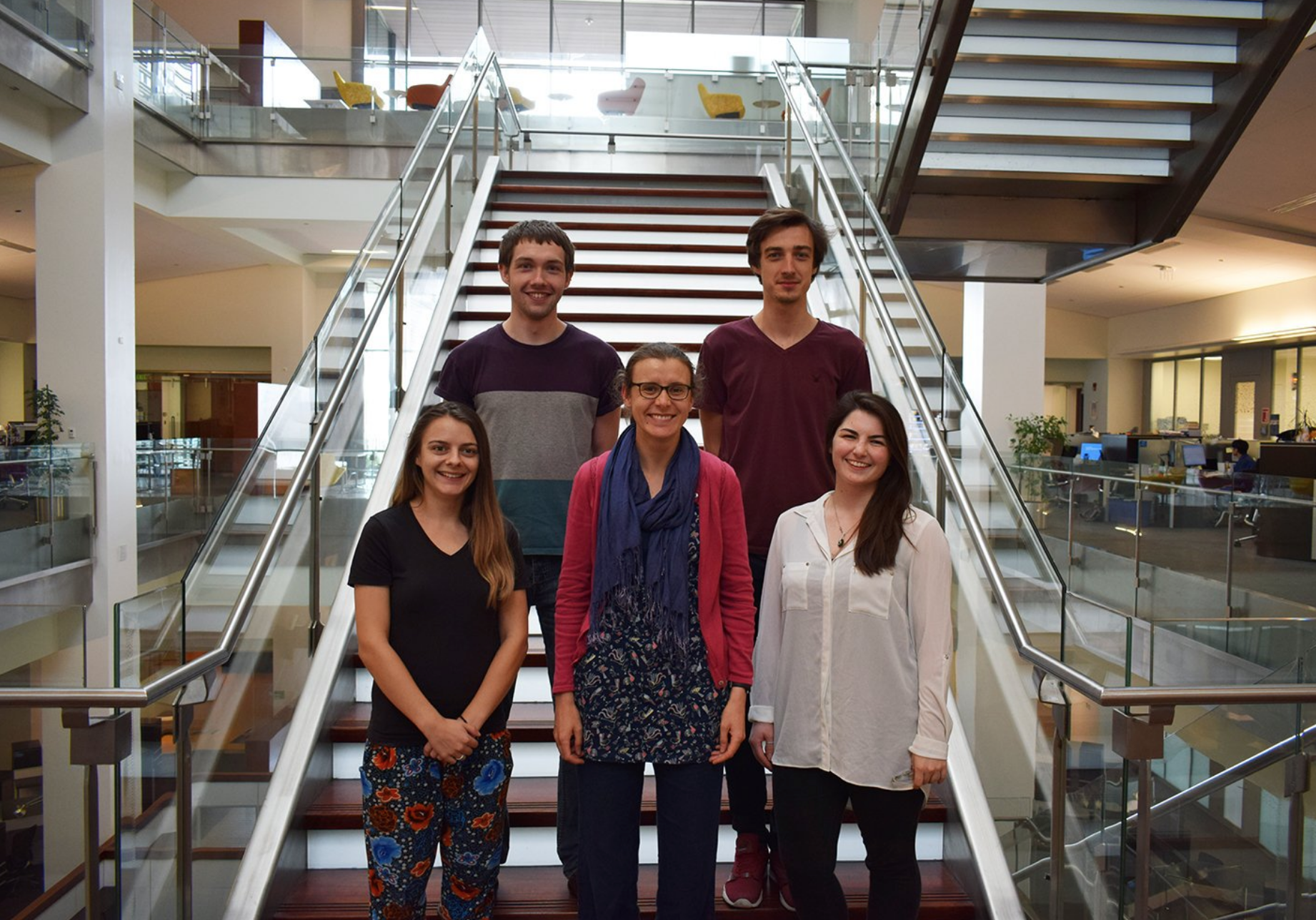 All the Best Sky! - 19/7/18Sky MacPhee, a Master student from University of Strathclyde spent a year with us, and following a recent visit by their supervisor Sarah Walker, Sky along with her three other peers are now returning home to complete their degrees. Wish them every success in the future and hope to welcome them again to KAUST.