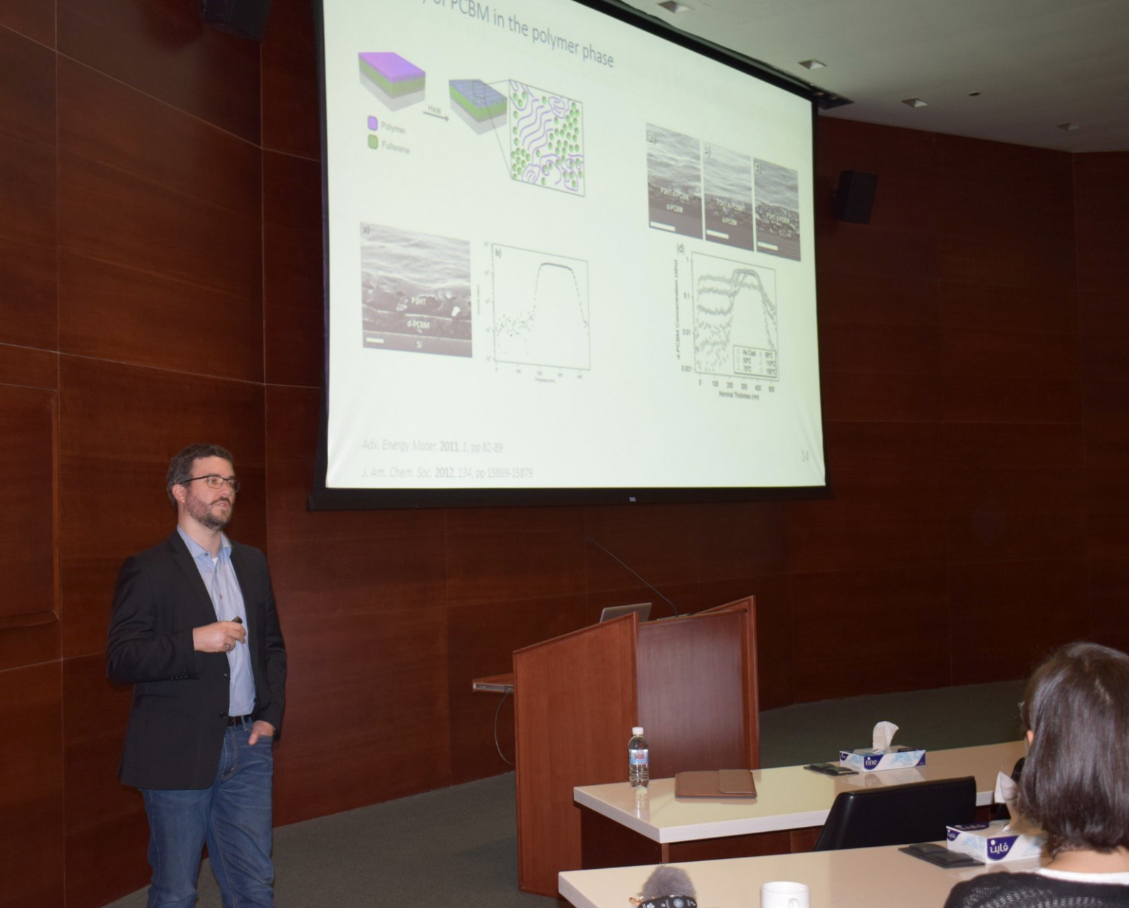 Dr.Bob Schroeder KSC Seminar - 11/4/17It was a pleasure to host Prof.Schroeder from Queen Mary University of London who provided an informative KSC seminar titled