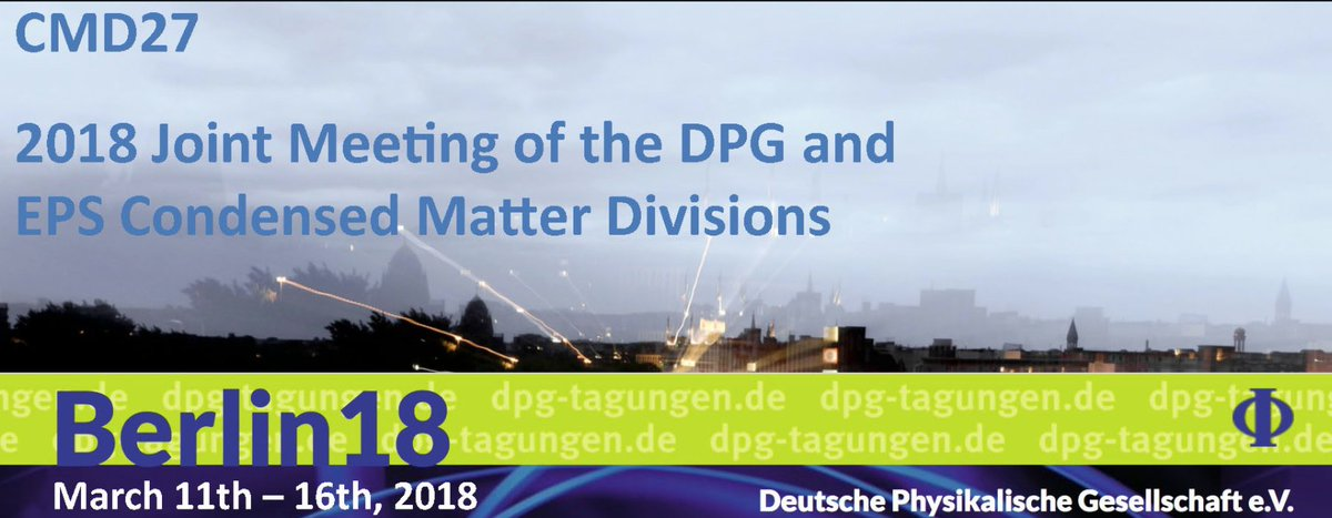 Derya Baran Gives an Invited Talk at DPG conference - 3/4/18Every year, DPG holds its Spring Meetings, which are regularly among the largest physics meetings in Europe. This year Prof Derya Baran will give an invited talk on the