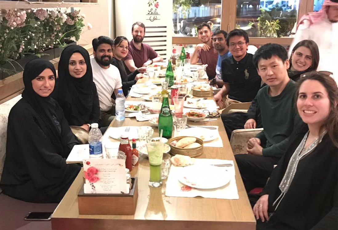 A Lovely Dinner at the Leila Restaurant in Jeddah - 13/12/18The Omega Lab Team Members enjoyed a lovely evening at Leila Restaurant in Jeddah last week reminiscing over the past year and accomplishments. Great way to end the year, with great food and great company!