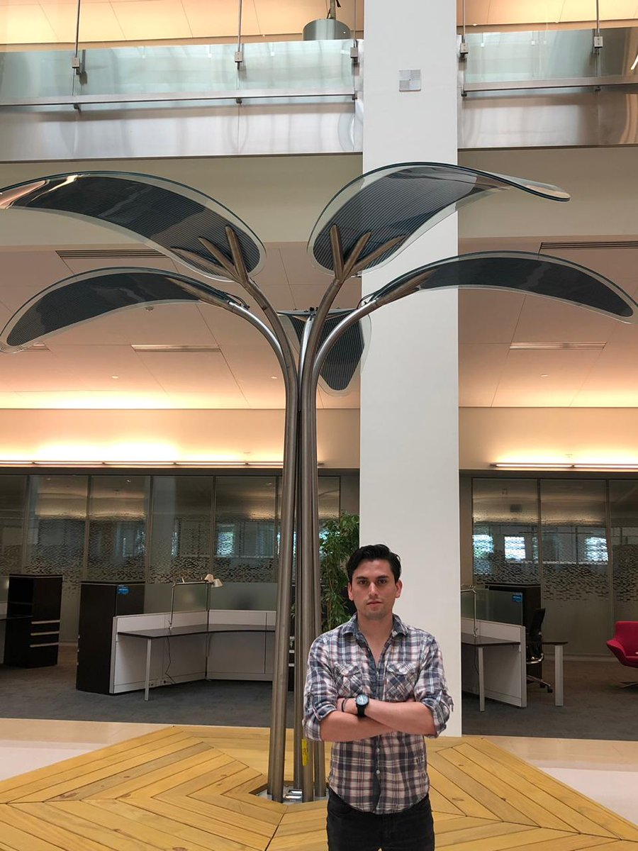 Luis Torres Joins OMEGA Group for his internship - 1/05/19Welcome to Luis Torres, our second visiting intern this month! He completed his undergrad in Unam University in Mexico and previously, worked University of Erlangen-Nurembergand ZAEBayern on solar cells in Germany. Within our group, he will focus on interface engineering of organic/perovskite tandem.