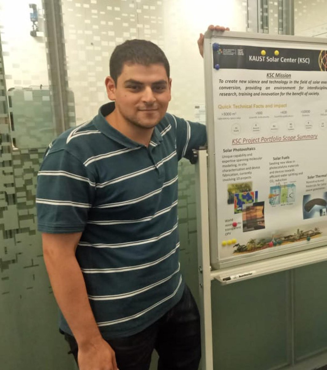 Undergraduate student Waleed Koubeisi from local University KAU joins us for his Summer internship - 08/05/19Welcome to the OMEGA Group Waleed Koubeisi! Waleed is an undergrad student in his last year at KAU University, who will be with us for the next 4 months, working on DC-DC converters for applications in solar energy harvesting.