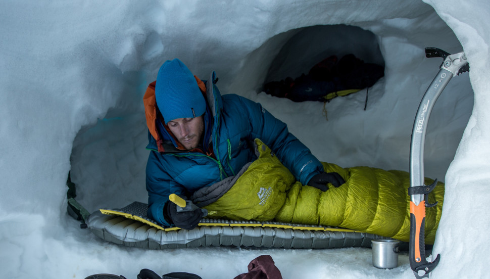 Thermarest - Keeping above the snow/ice is essential to keeping warm out here!