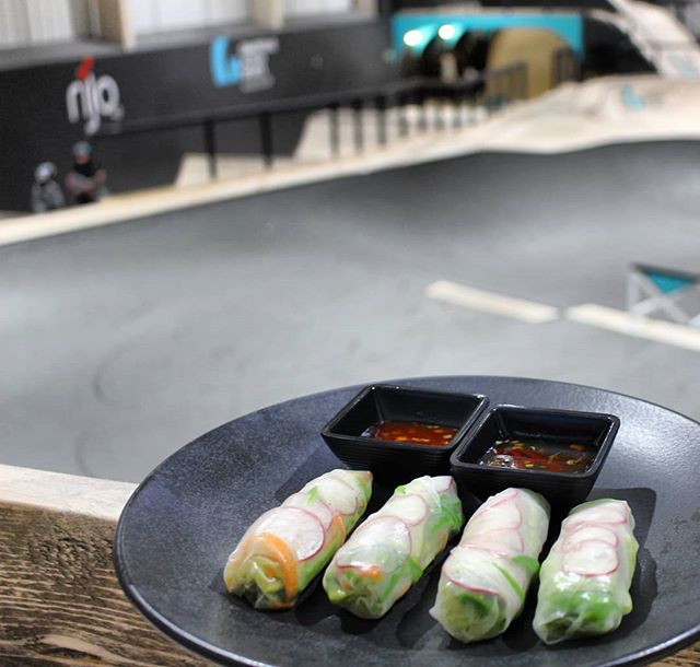 Who's coming for a roll this weekend!? Avocado rice paper rolls 😲  #eatmcr #mcrfoodie #manchesterfood #foodporn #visitmanchester #mcrfoodie #manchesterfoodie #hiddengemmcr  #bar #drinks #cocktails #manchester #beer #instagood #foodwithaview #views #drinks #bar #cafe #skateboarding #family #bike #bmx