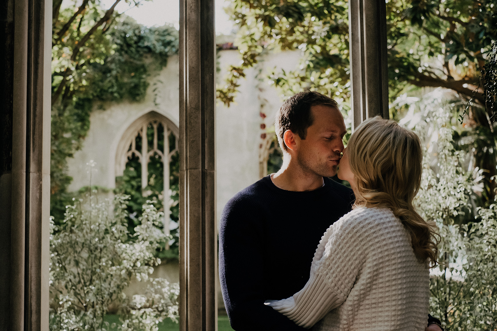 Pre Wedding Shoot at St Dunstan in the East
