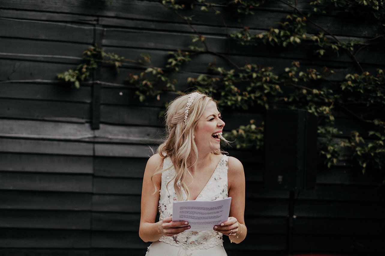 THE RISE OF THE ALL IMPORTANT BRIDAL SPEECH -