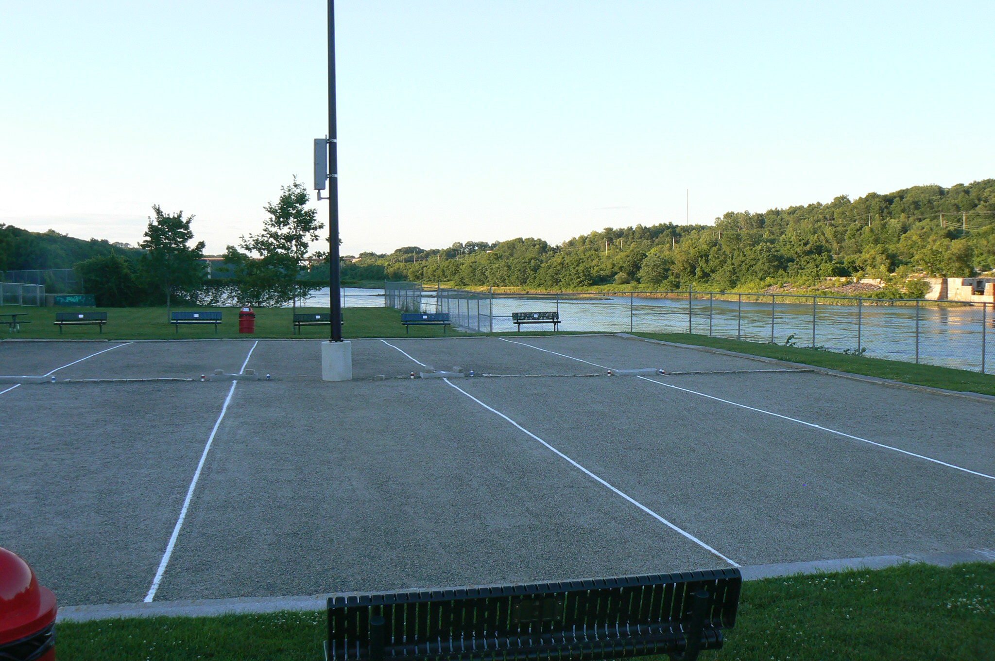 Courts ready for play.JPG