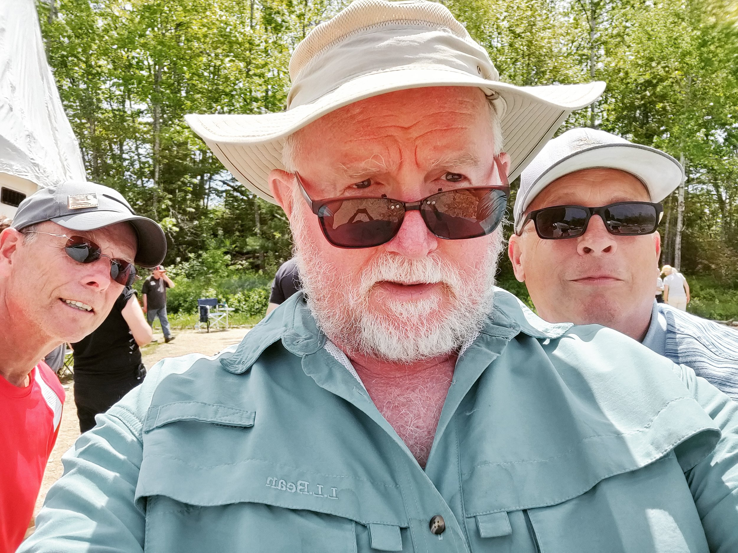 Bruce, Dan, and Gary at the Blue Hills triples tournament. 6.9.19