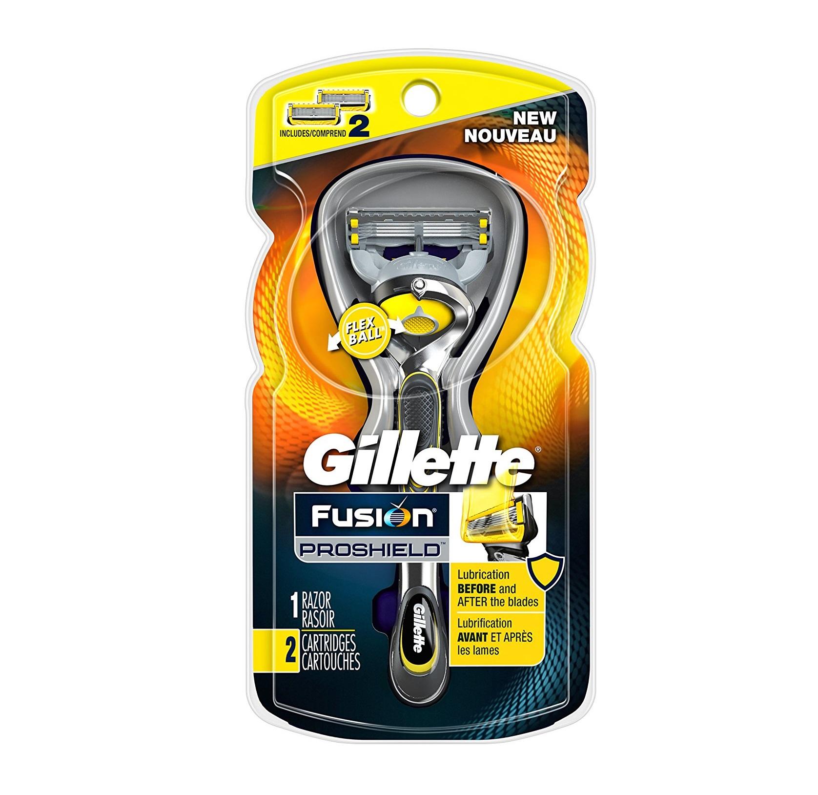 Gillette Fusion ProShield Men's Razor with Flexball Handle