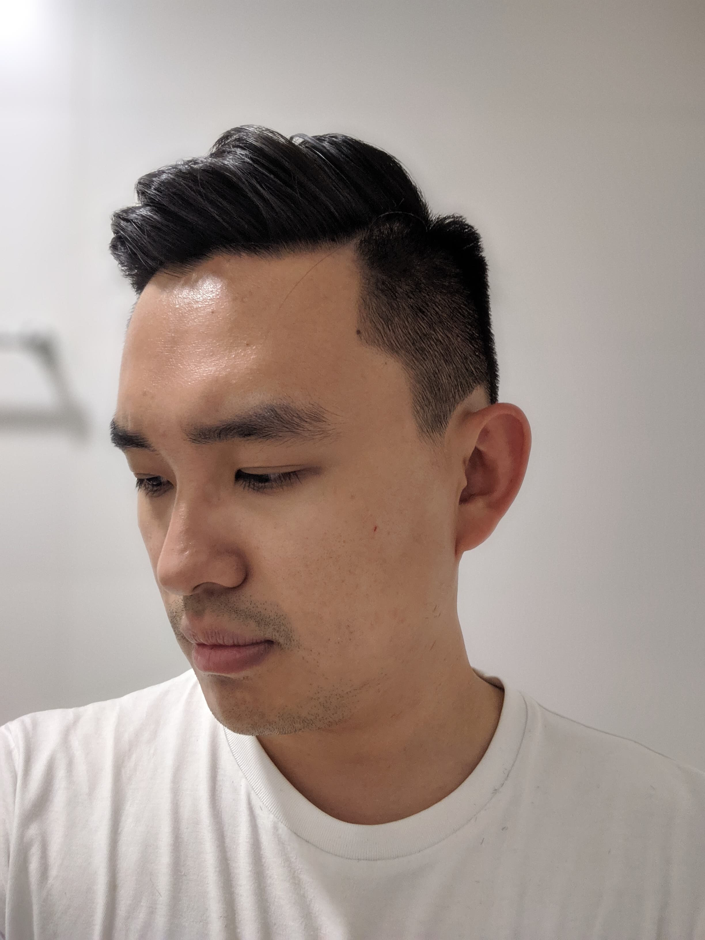 LA Barbershop Hair Cut Review - Side View