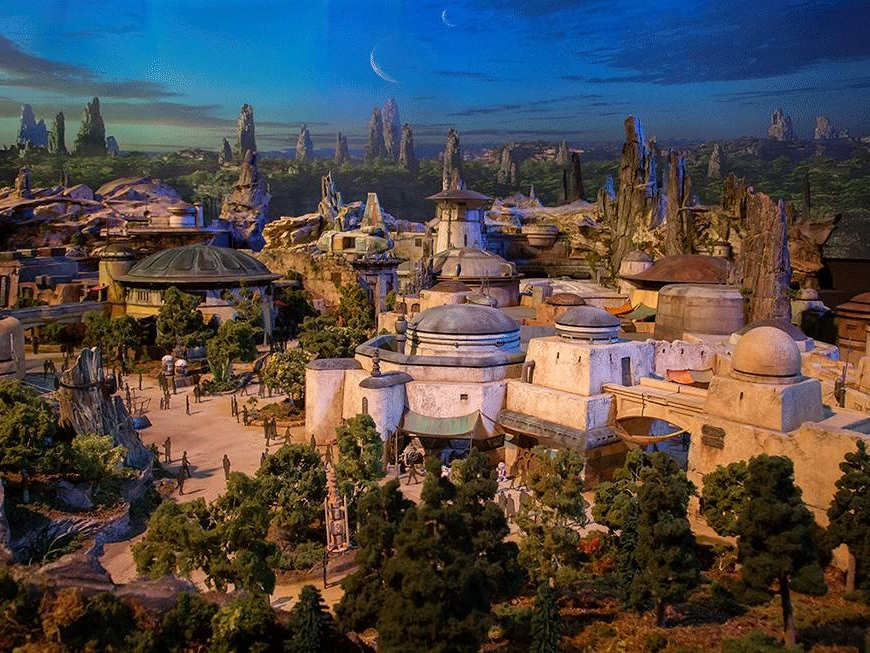 Look Inside Disney's New Star Wars Land - TIME.com | July 14, 2017Disney Parks has been busy constructing two Star Wars-inspired lands for Walt Disney World and Disneyland Resorts.
