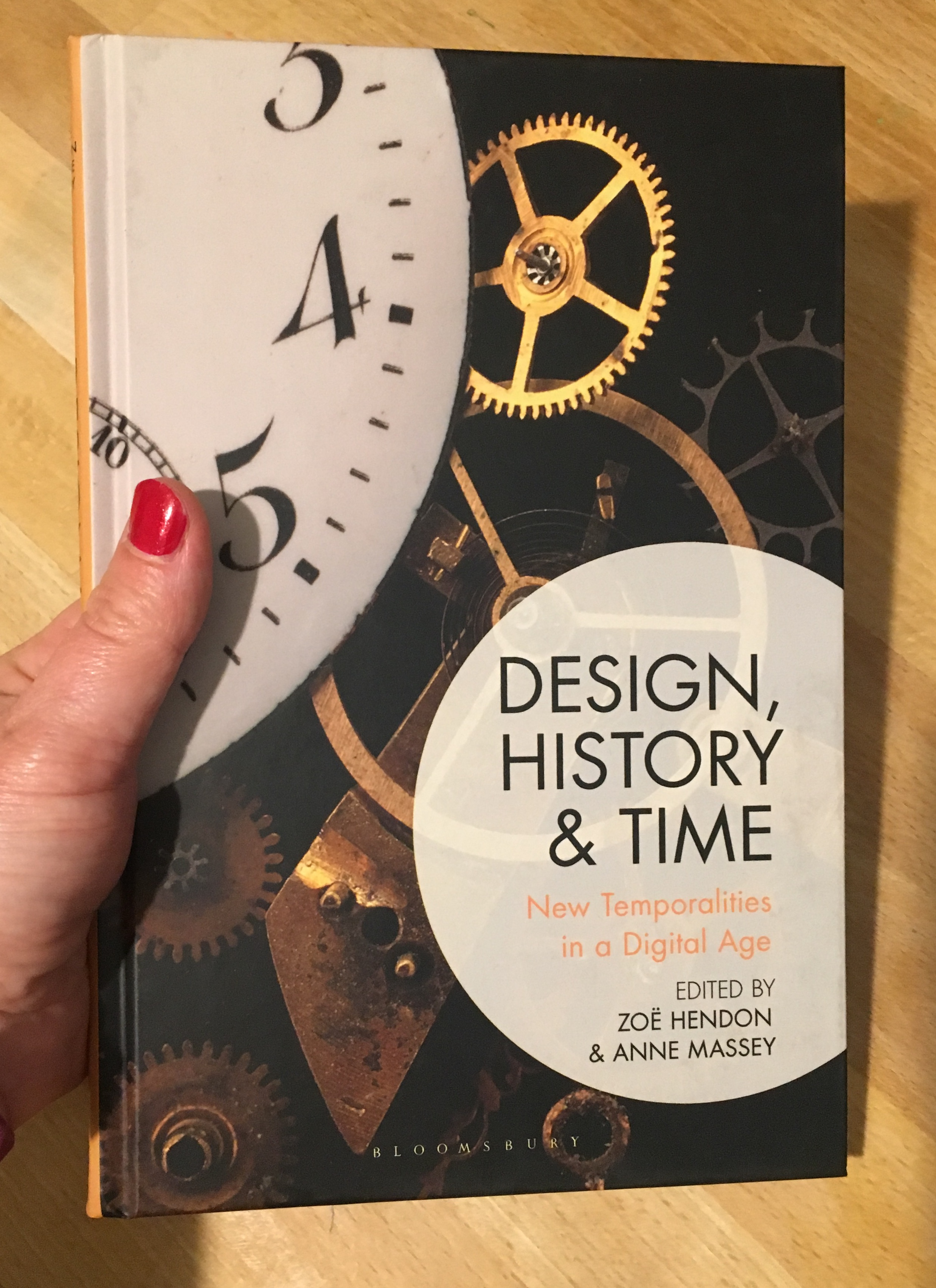 - Design, History and Time, edited by Zoë Hendon and Anne Massey (Bloomsbury 2019).