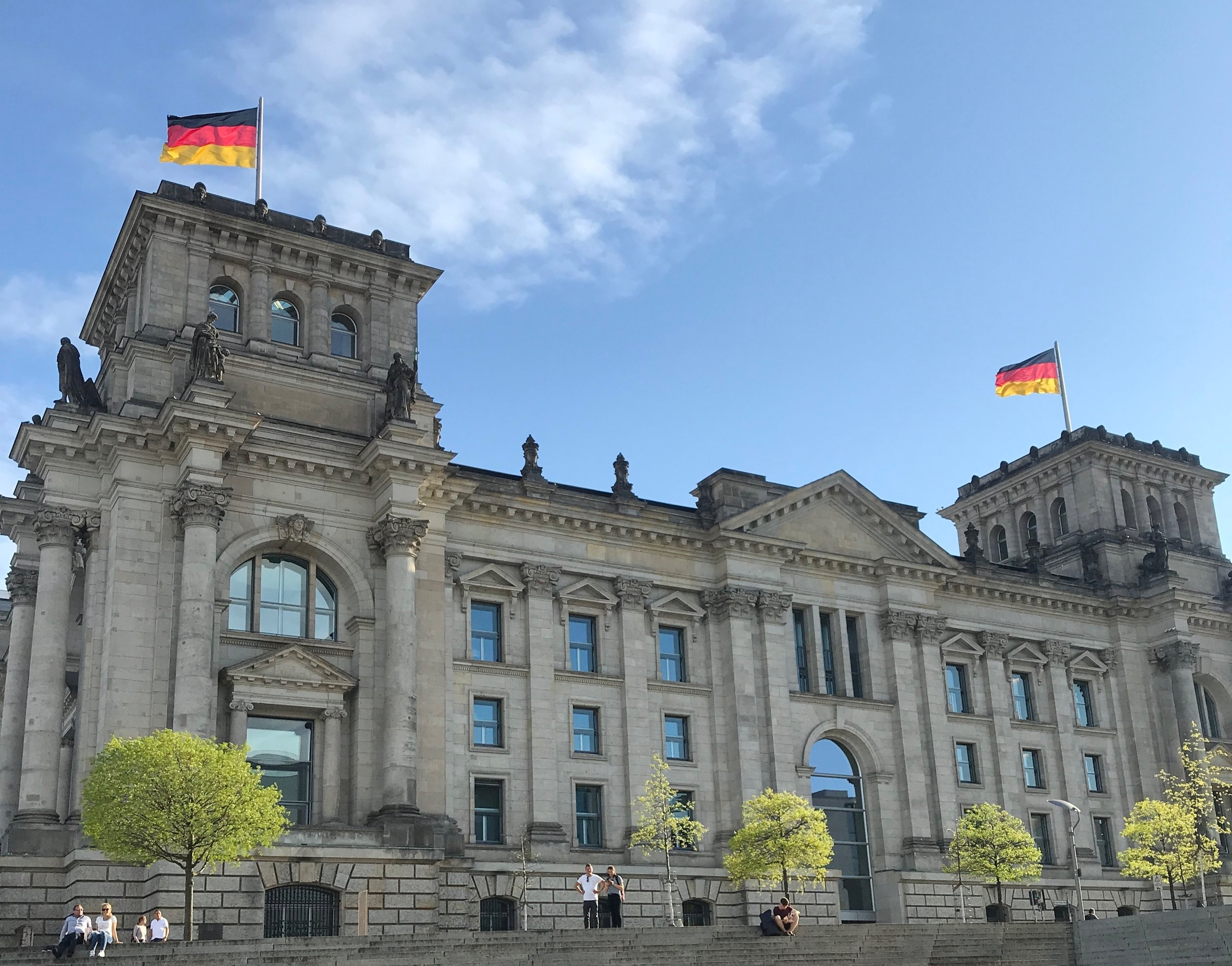 - Reichstag from the River Spree