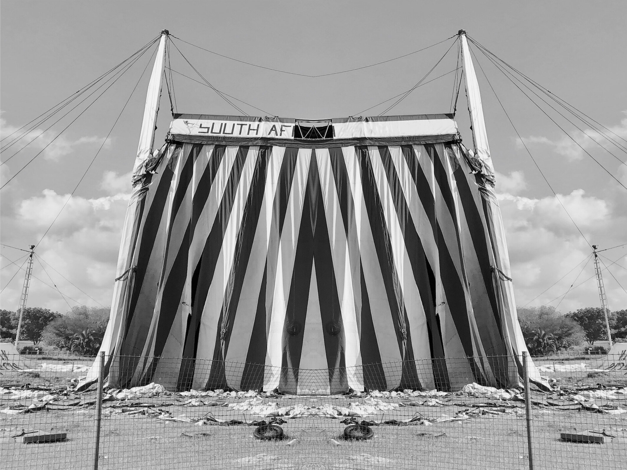 Tent, Observatory, 2019  © Alastair Whitton