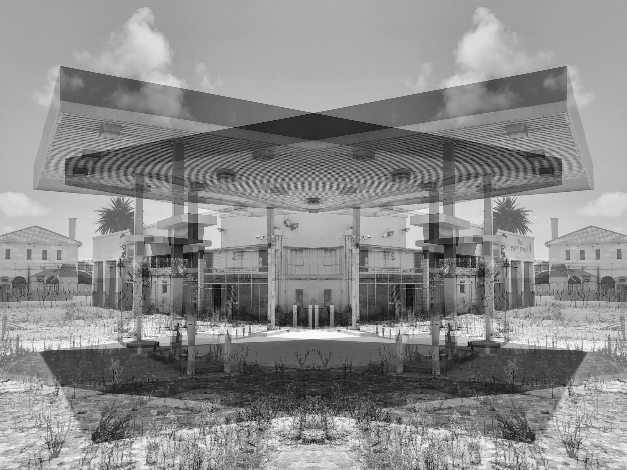 Fuel Station, Salt River, 2018-2019  © Alastair Whitton