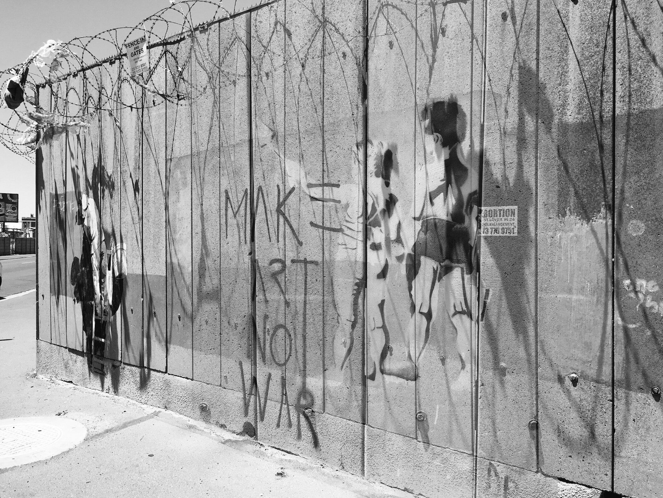 Wall, Woodstock, 2013-2019  © Alastair Whitton