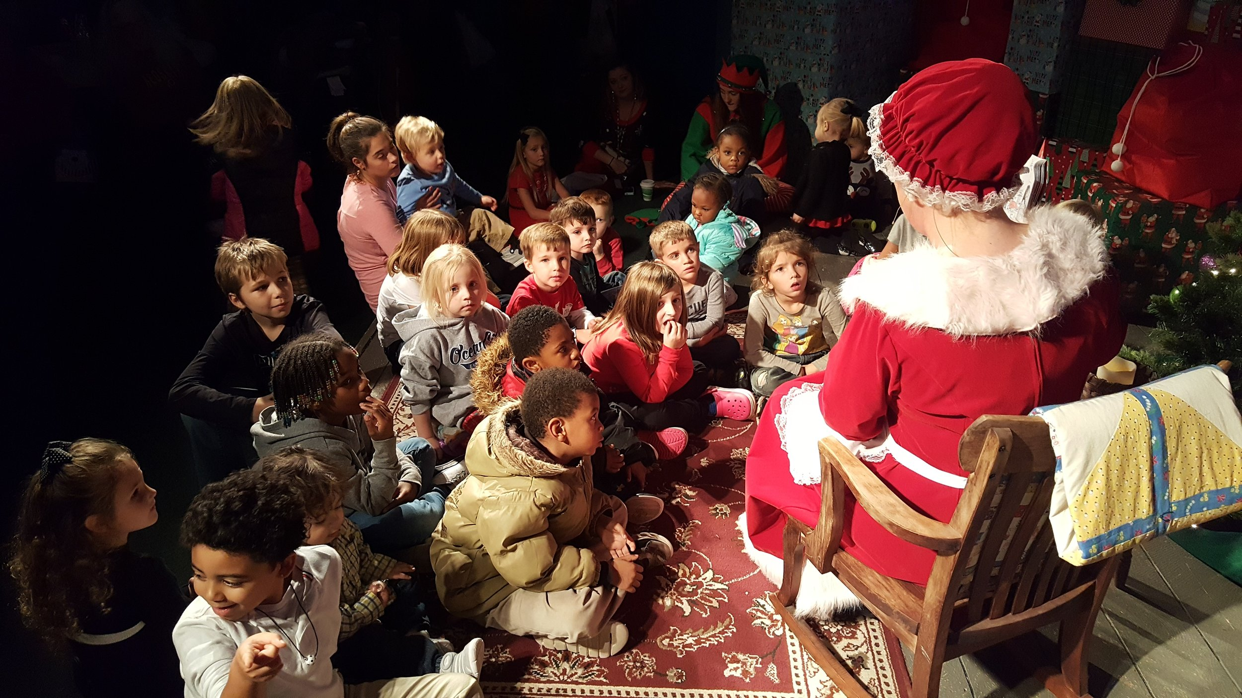 The best Christmas stories are the ones read by Mrs. Claus!