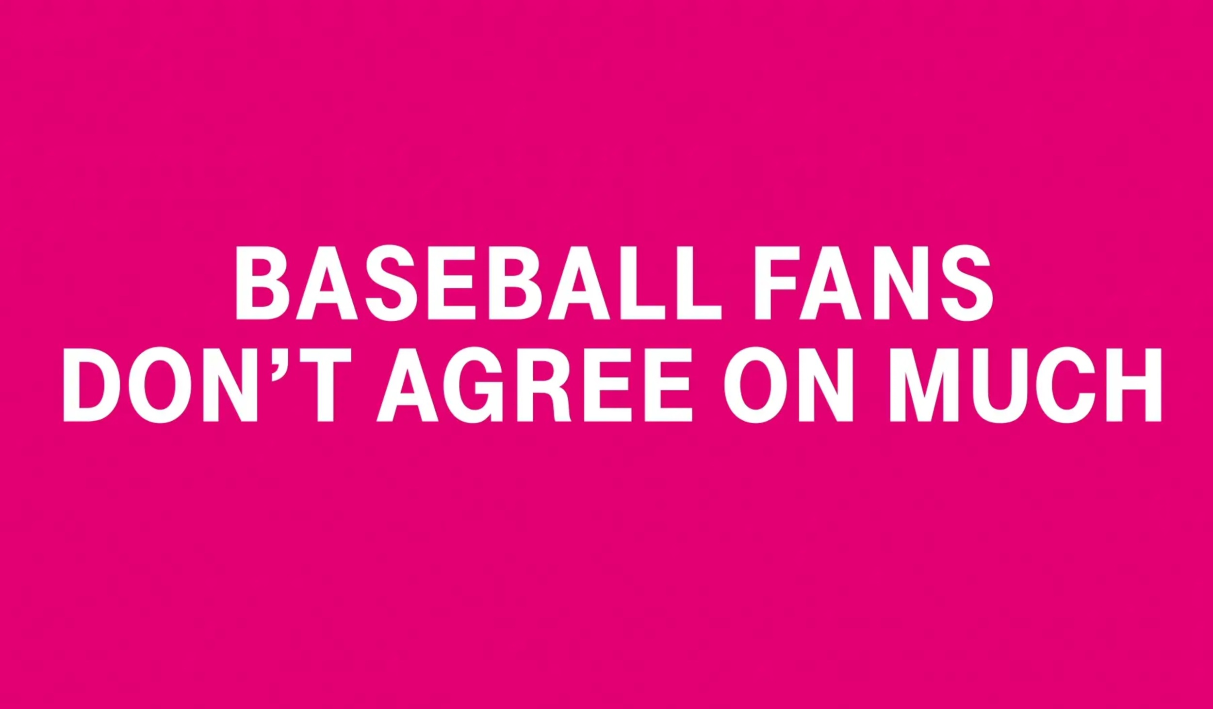 T-Mobile // Inside Baseball
