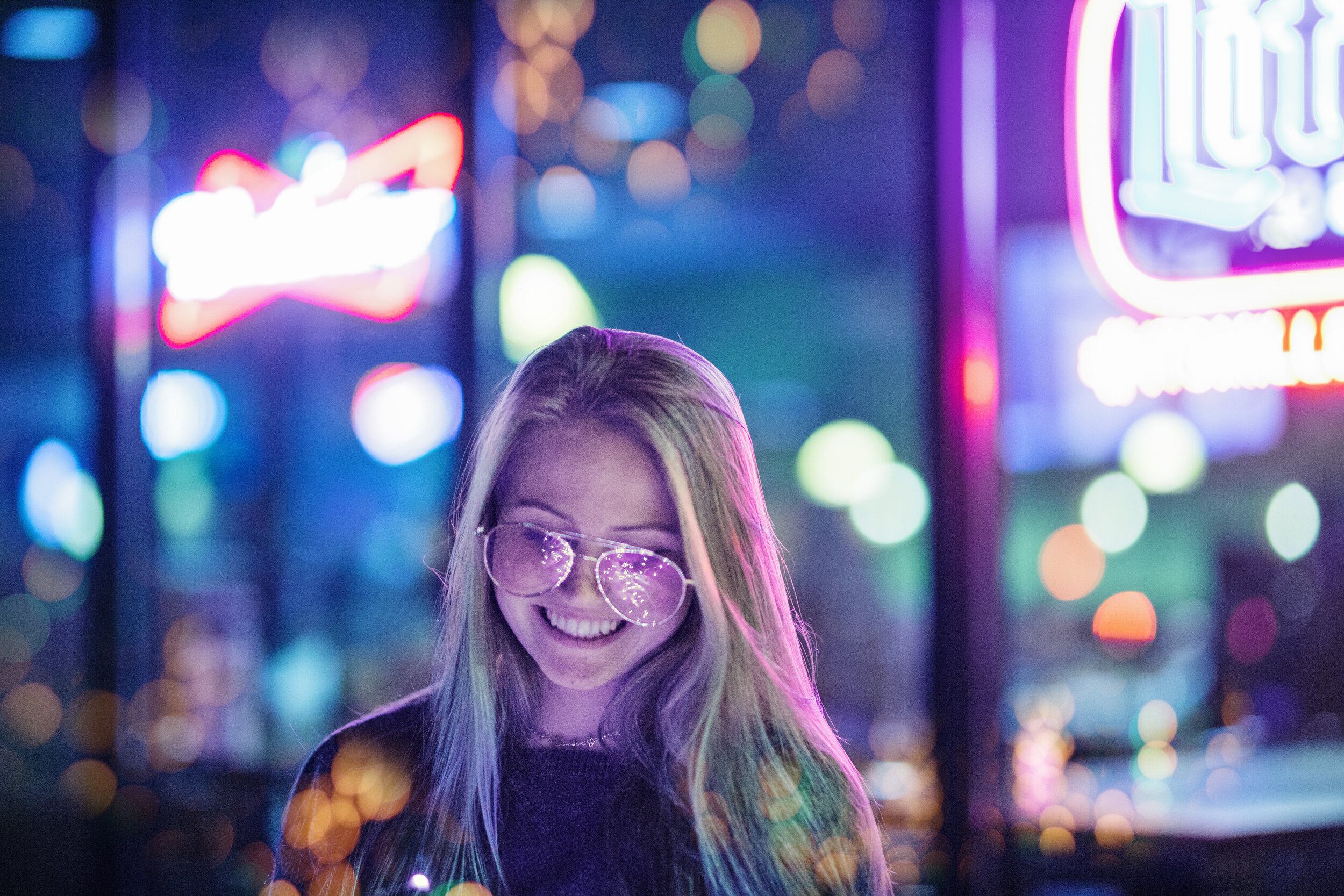 teen night shoot neon boise idaho