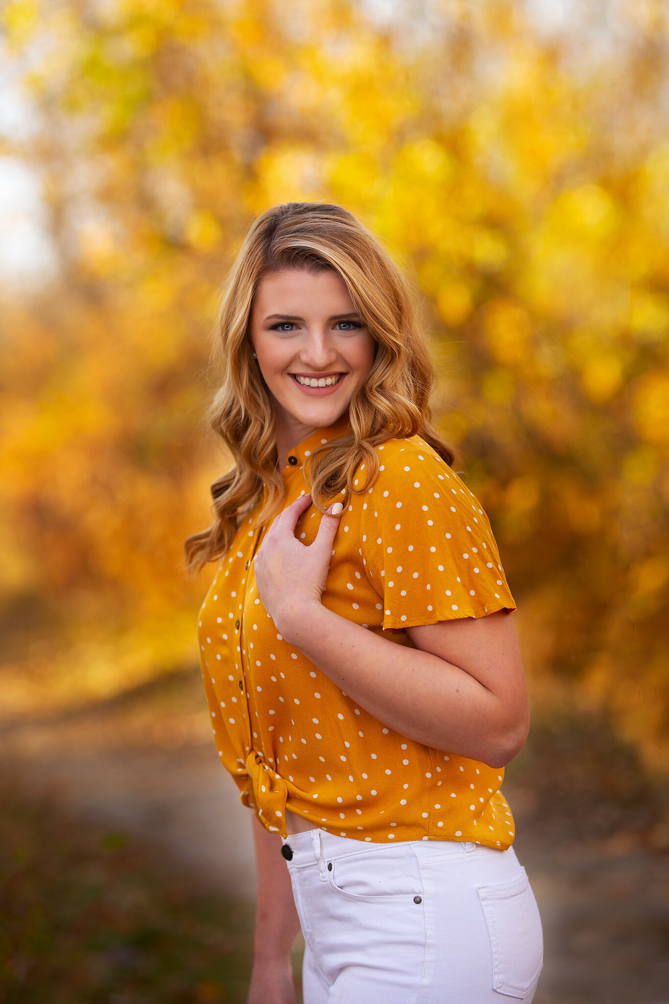 fall portraits senior photography