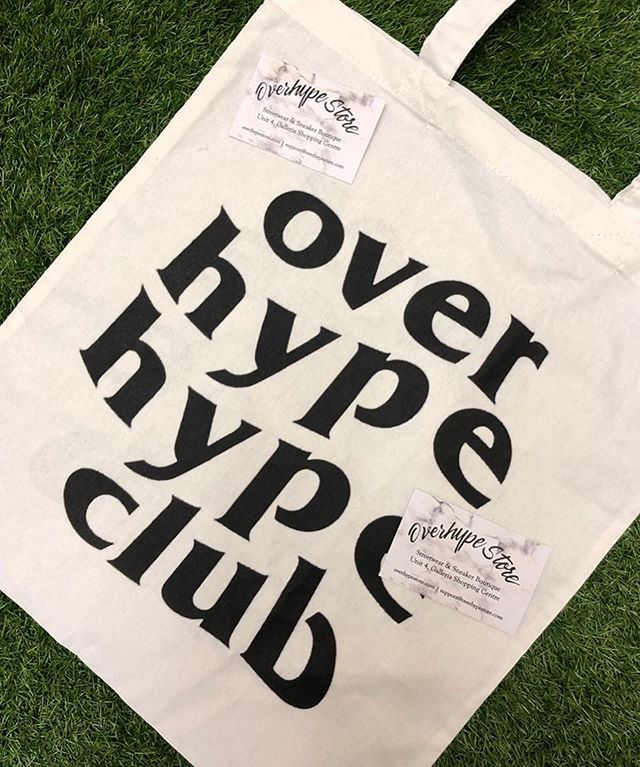 Tote bag season.  100 Tote Bags and Hoodies printed for @overhype_store  Contact us to place your order