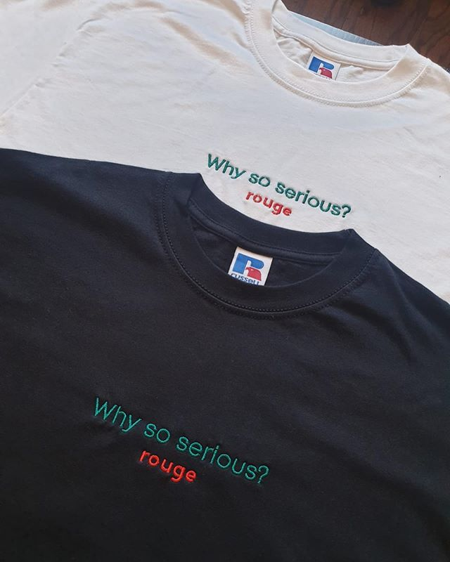 3D Embroidery for @rougeclothing19  Contact us to place your order