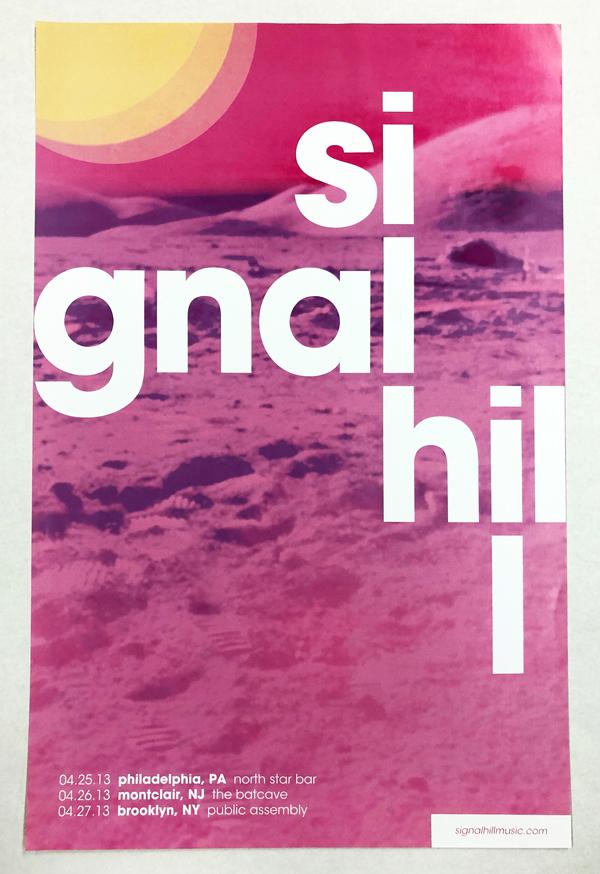 Signal Hill 2013 Tour poster