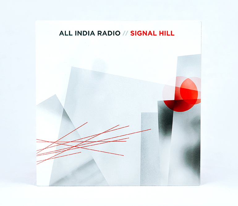 "Signal Hill / All India Radio 7"" Split - front cover"