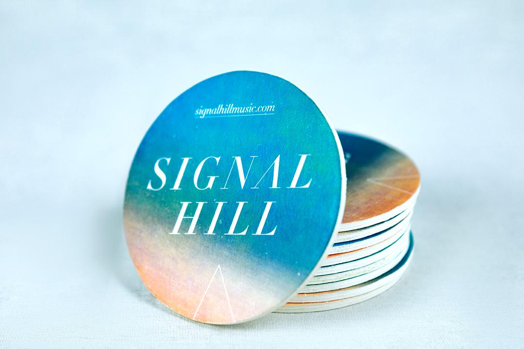 Signal Hill coasters