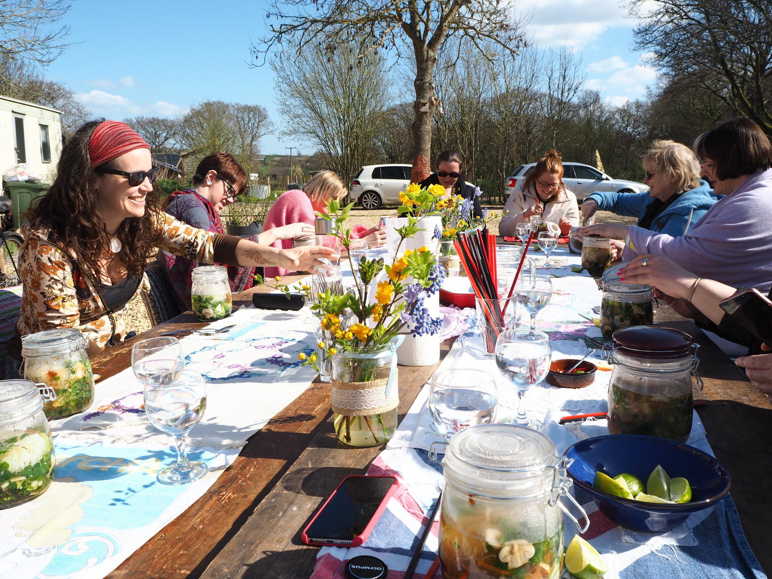 Practical Magic Weekend Retreat Spring 2020 Isle of Wight