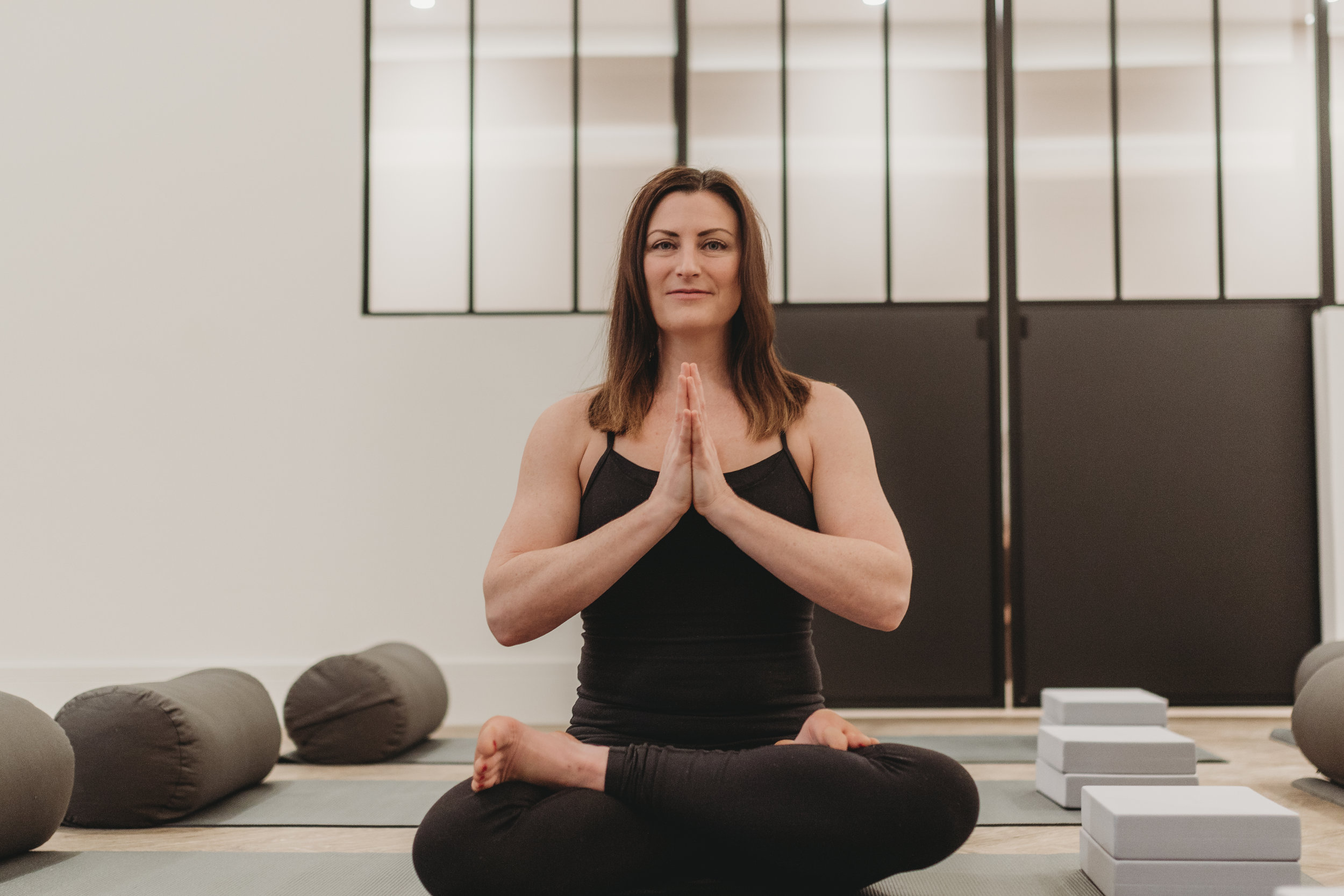 Alison    Alison has over a decade of experience in teaching Ashtanga, Vinyasa Flow and prenatal yoga as well as being a certified Massage Therapist. Alison is known for her creative flows and bringing a sense of humour to the mat to encourage her students to be easy on themselves.