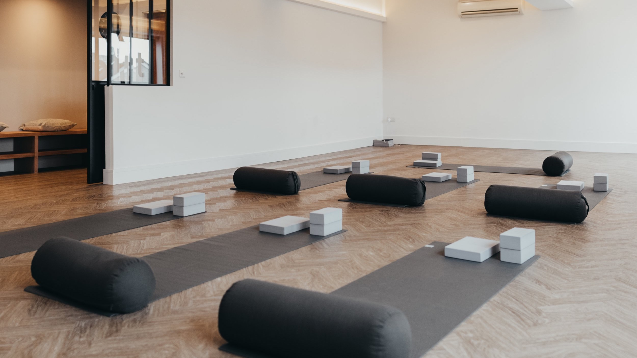 Inhale, exhale, breathe and relax in our beautiful yoga studio.The perfect environment to try yoga for the first time. - YOGA | PEOPLE | COMMUNITYBOOK NOW
