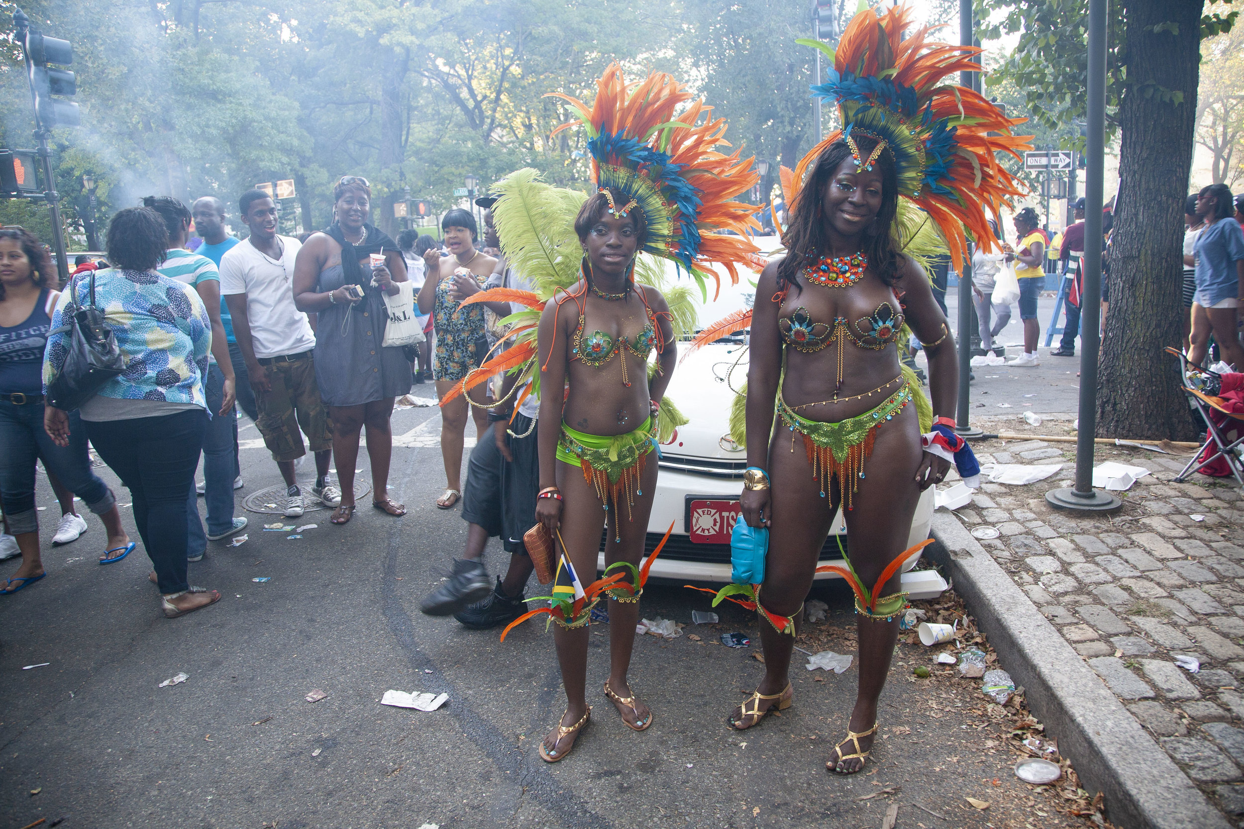 Edible Brooklyn featuring The West Indian Day Parade