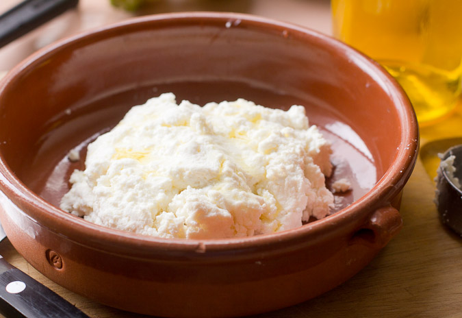 Pre-baked ricotta: An Easy Mother's Day Brunch