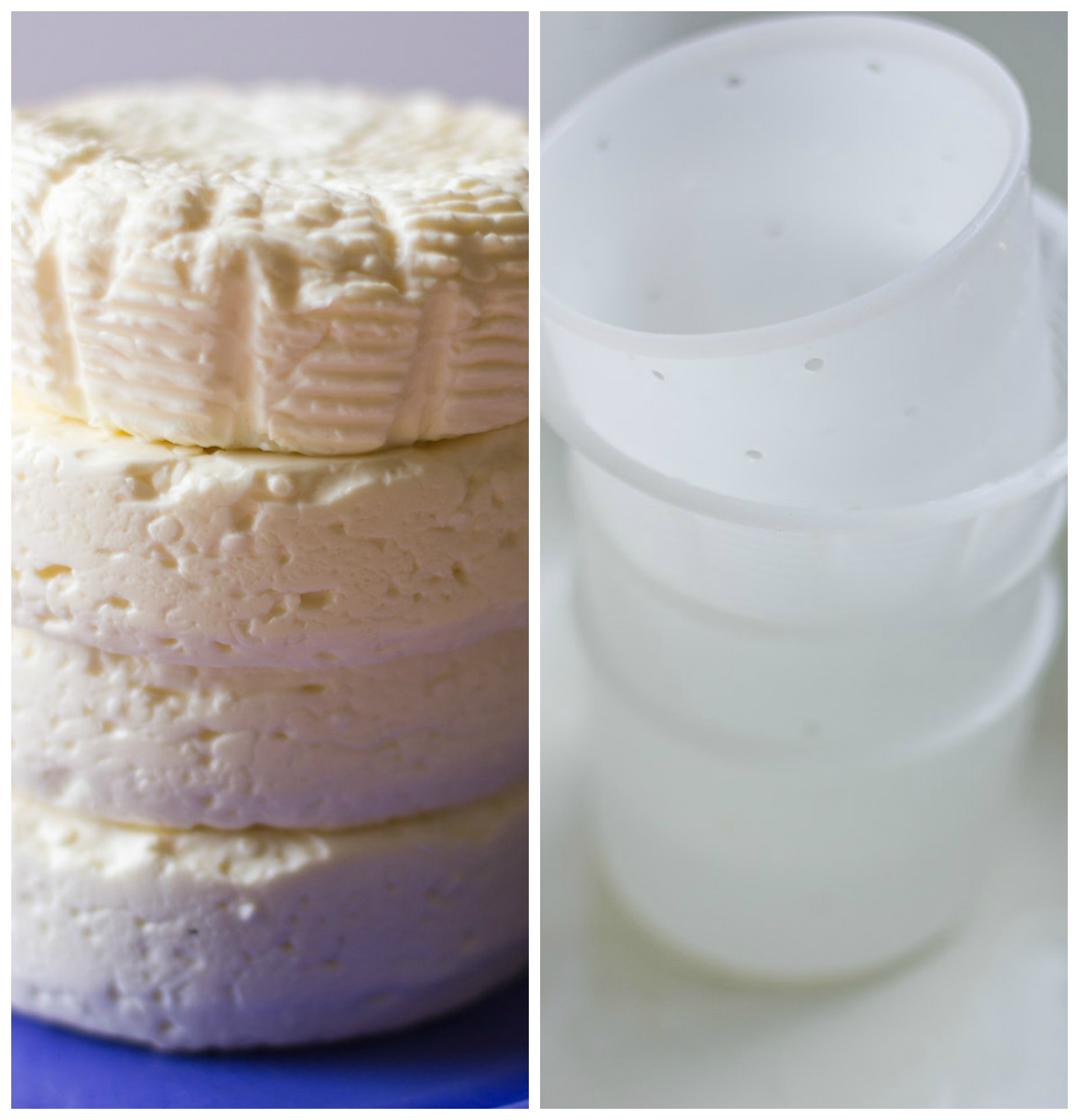 Camembert stacks- cheese making classes