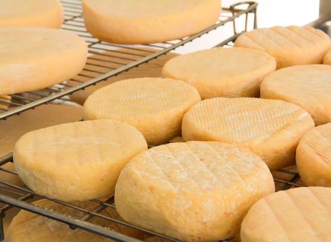 Irish cheese Durrus