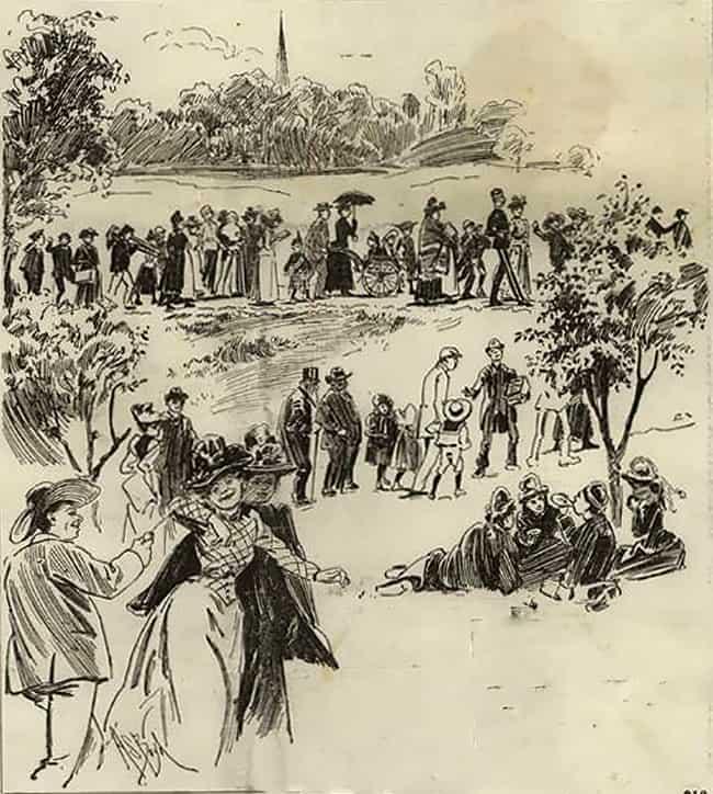 1892 Bank Holiday At Hampstead Borders Of Heath At Noon.jpg