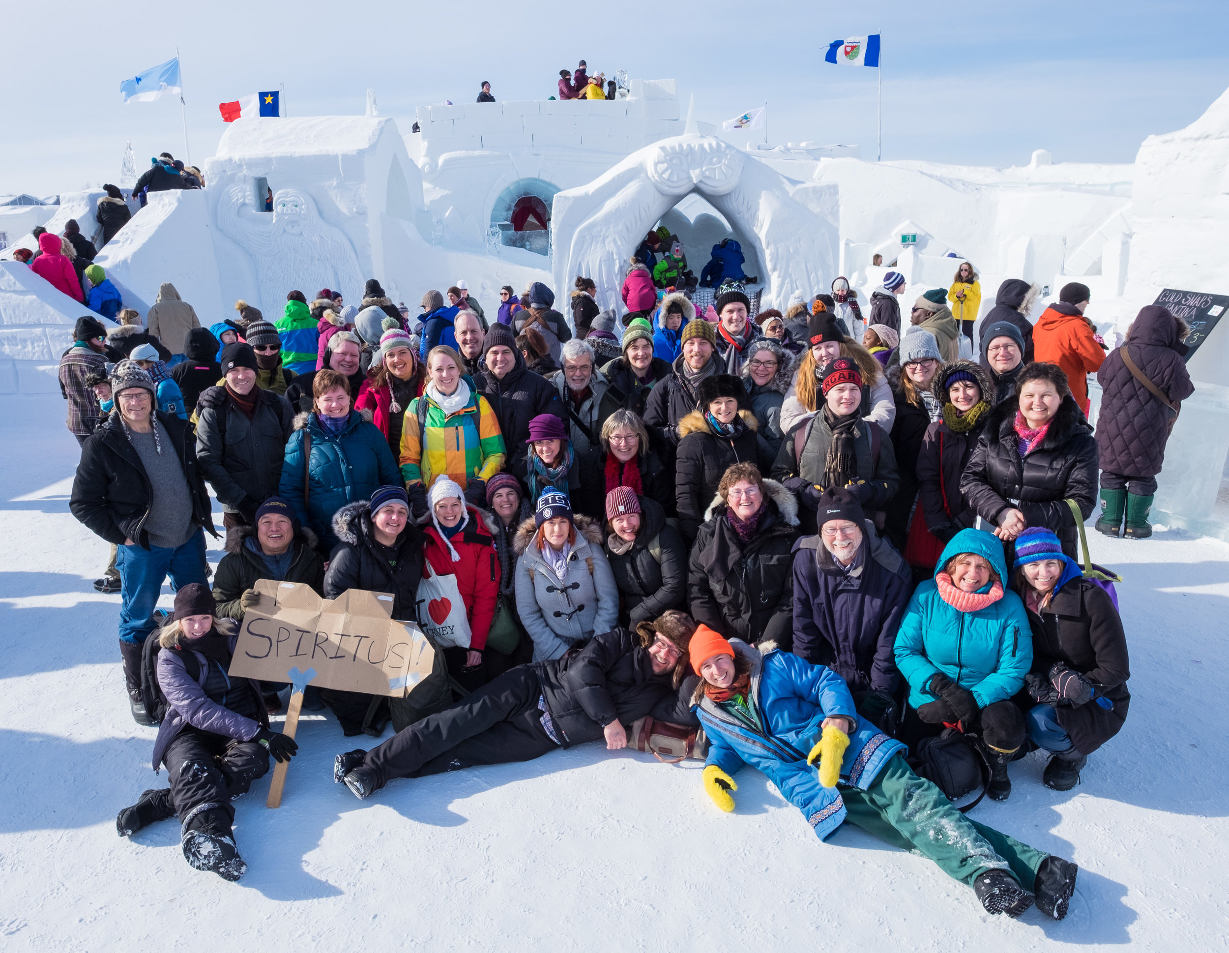 Spiritus Choir in Yellowknife at Snowking festival - Group Photo.jpg