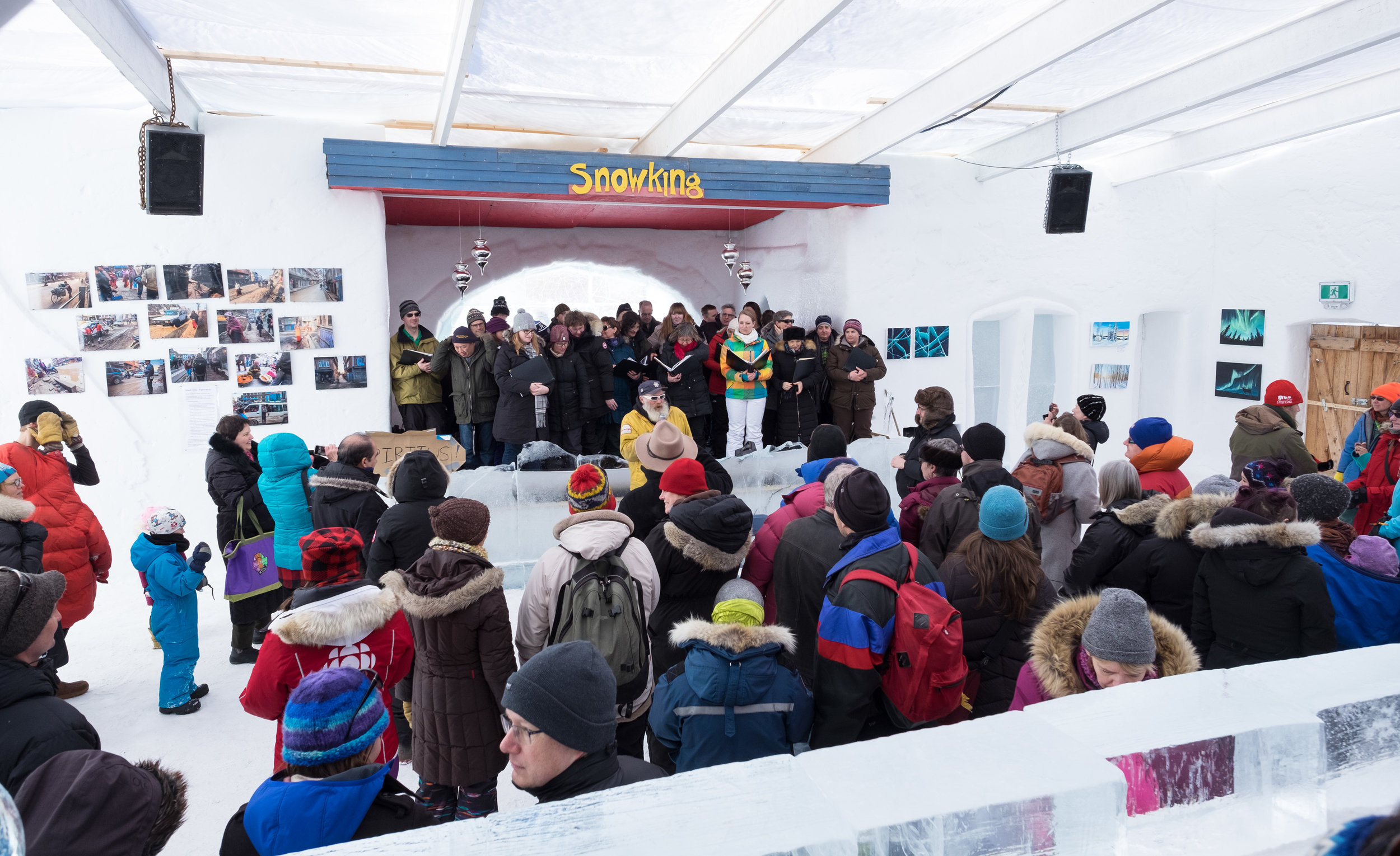 Spiritus Choir in Yellowknife at Snowking festival - performing 5.jpg