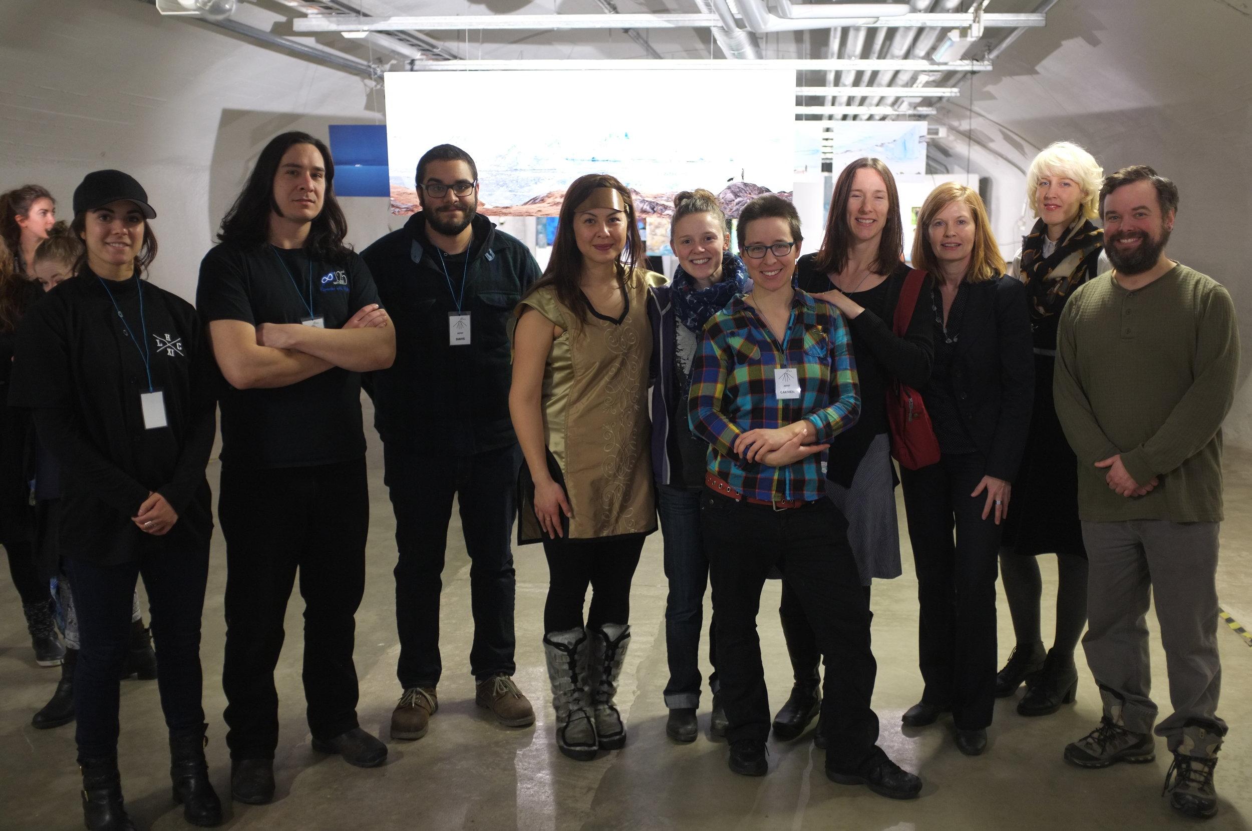 Helsinki - Canadians at Vapaan Taian Tilla - 2.JPG