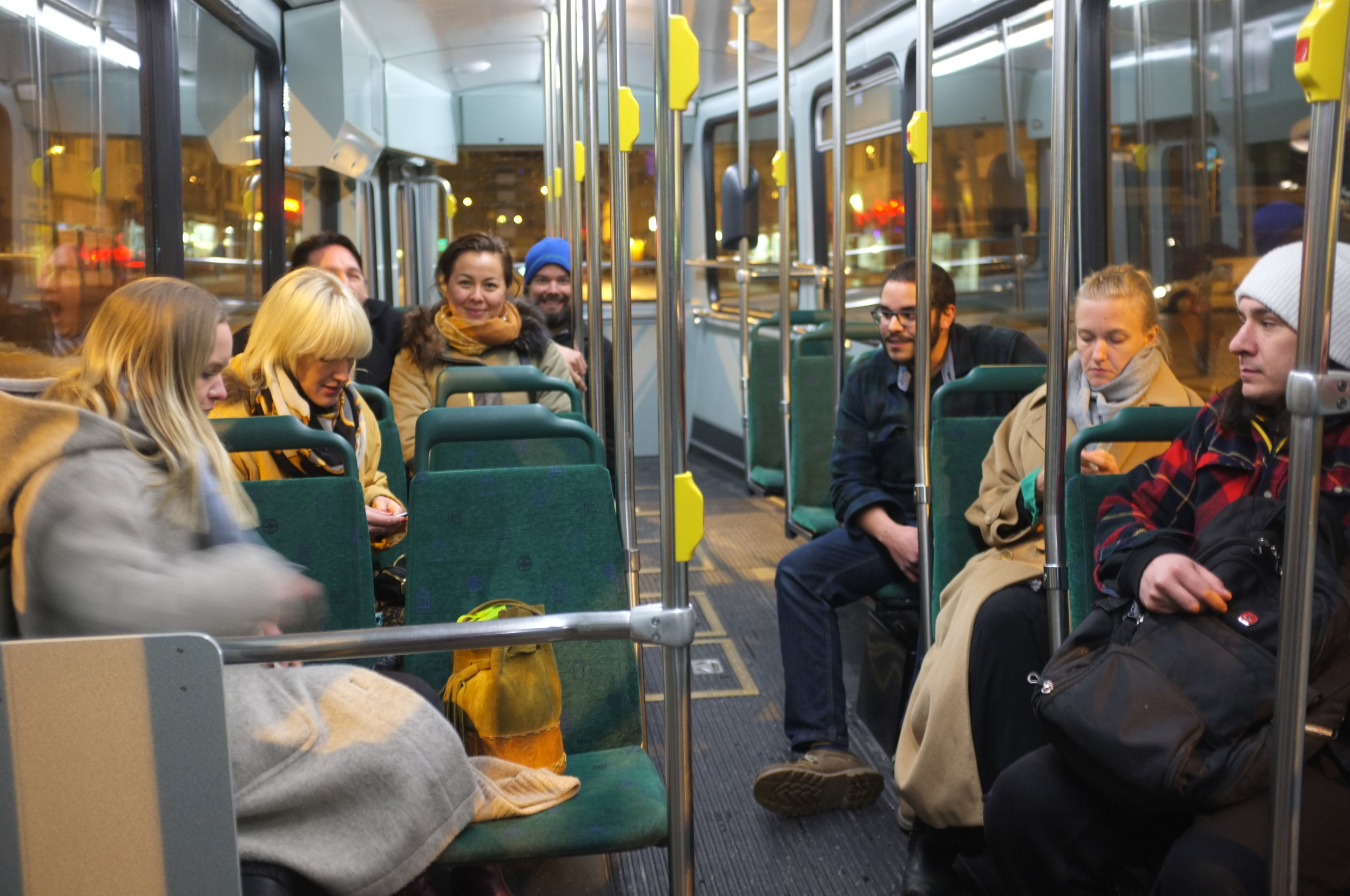 Helsinki - Canadians on a bus 1.JPG