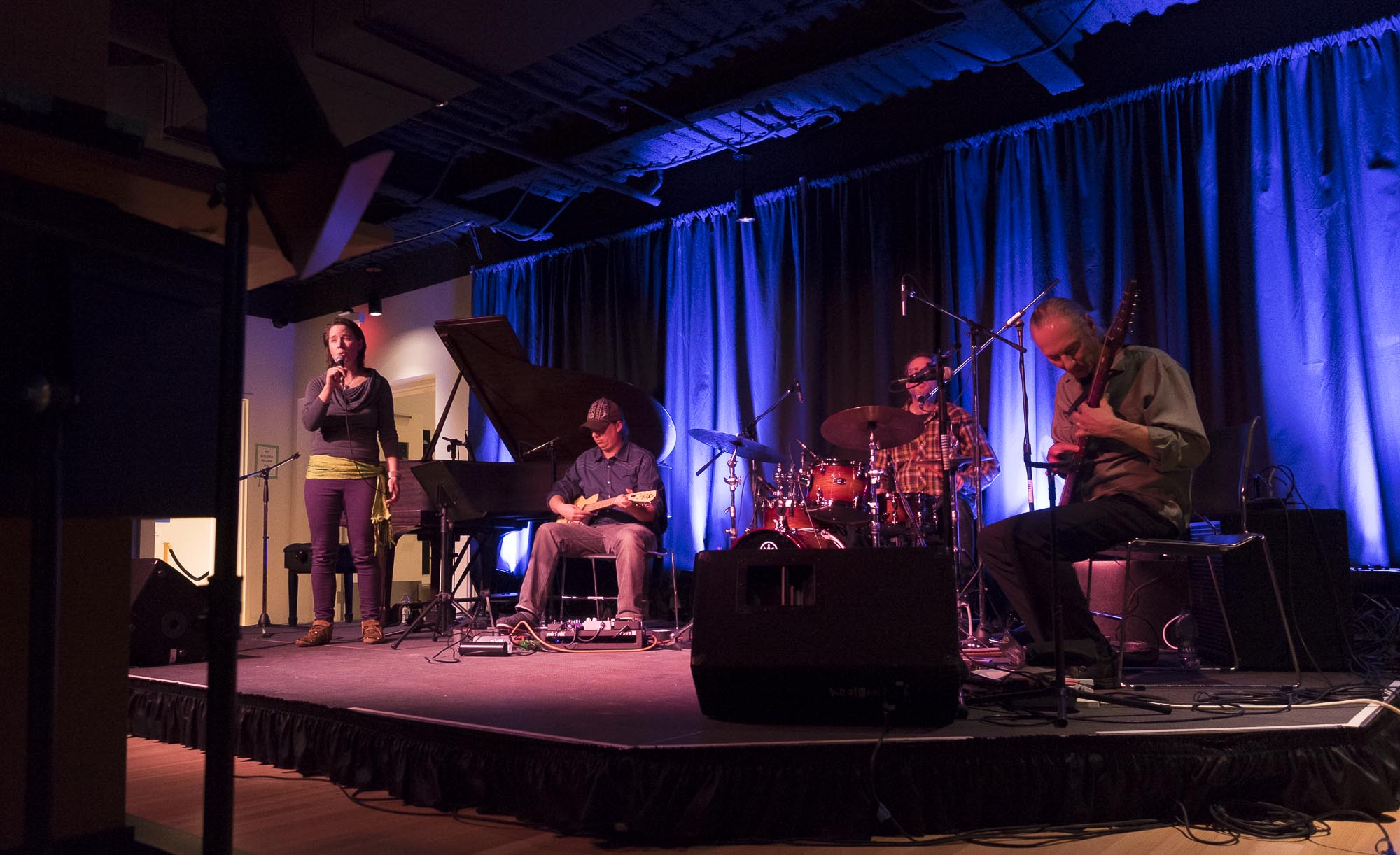 Calgary Launch Concert - Band performing DSCF4867.jpg