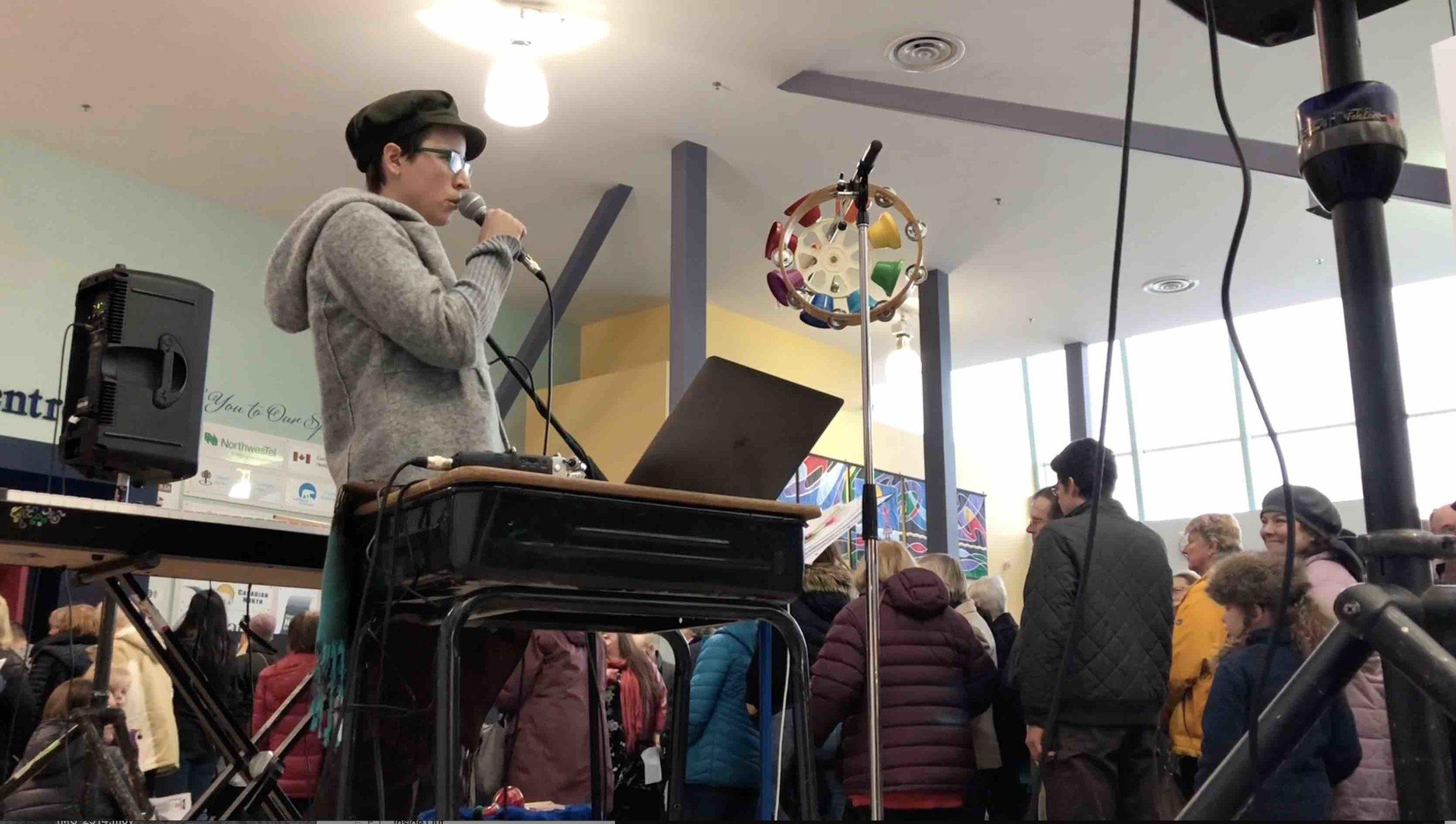 NACC Lobby Show - carm singing crowd .jpg