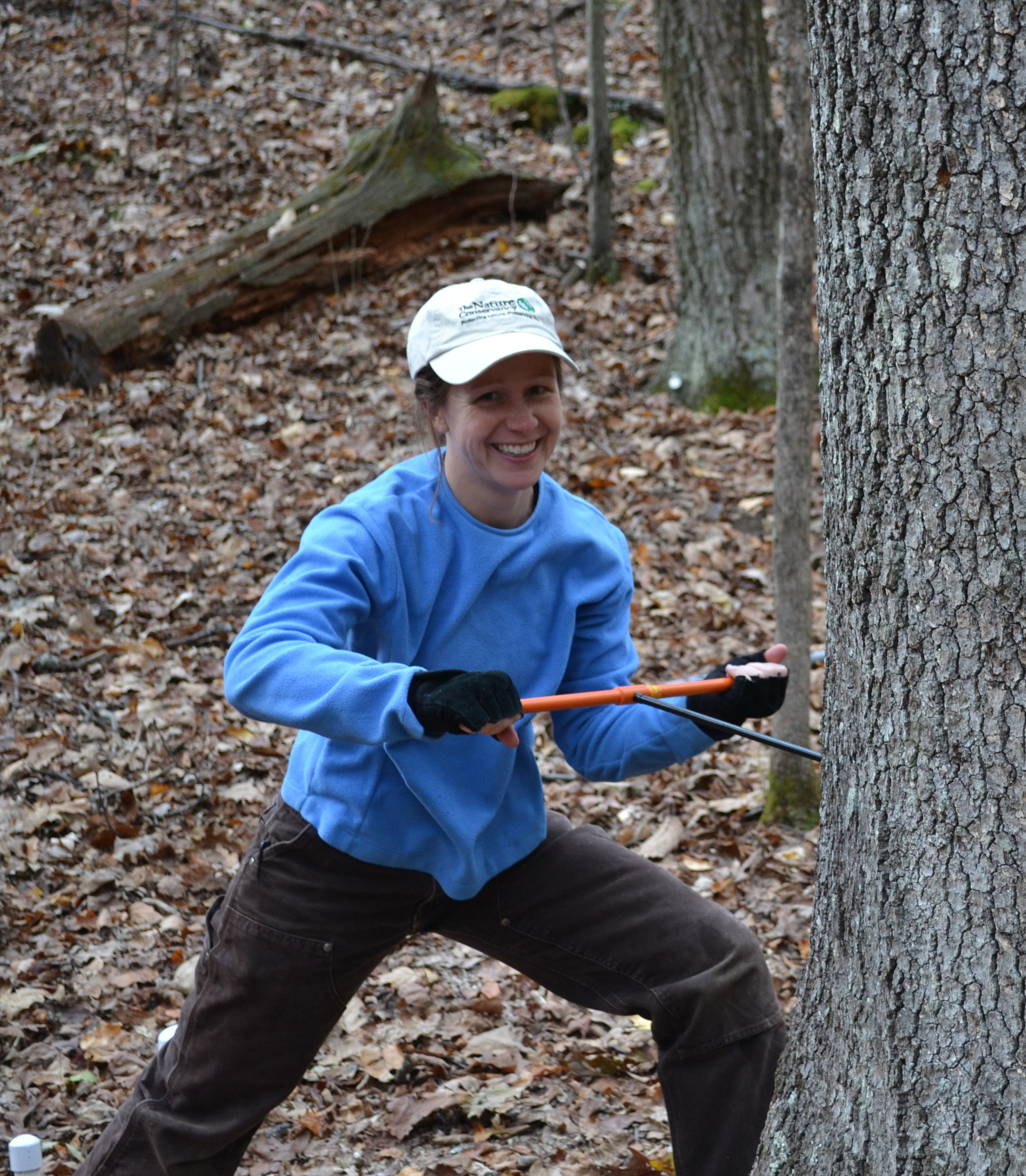 About - Find out about Christy and others involved with the Forest Ecology lab at The Morton Arboretum.