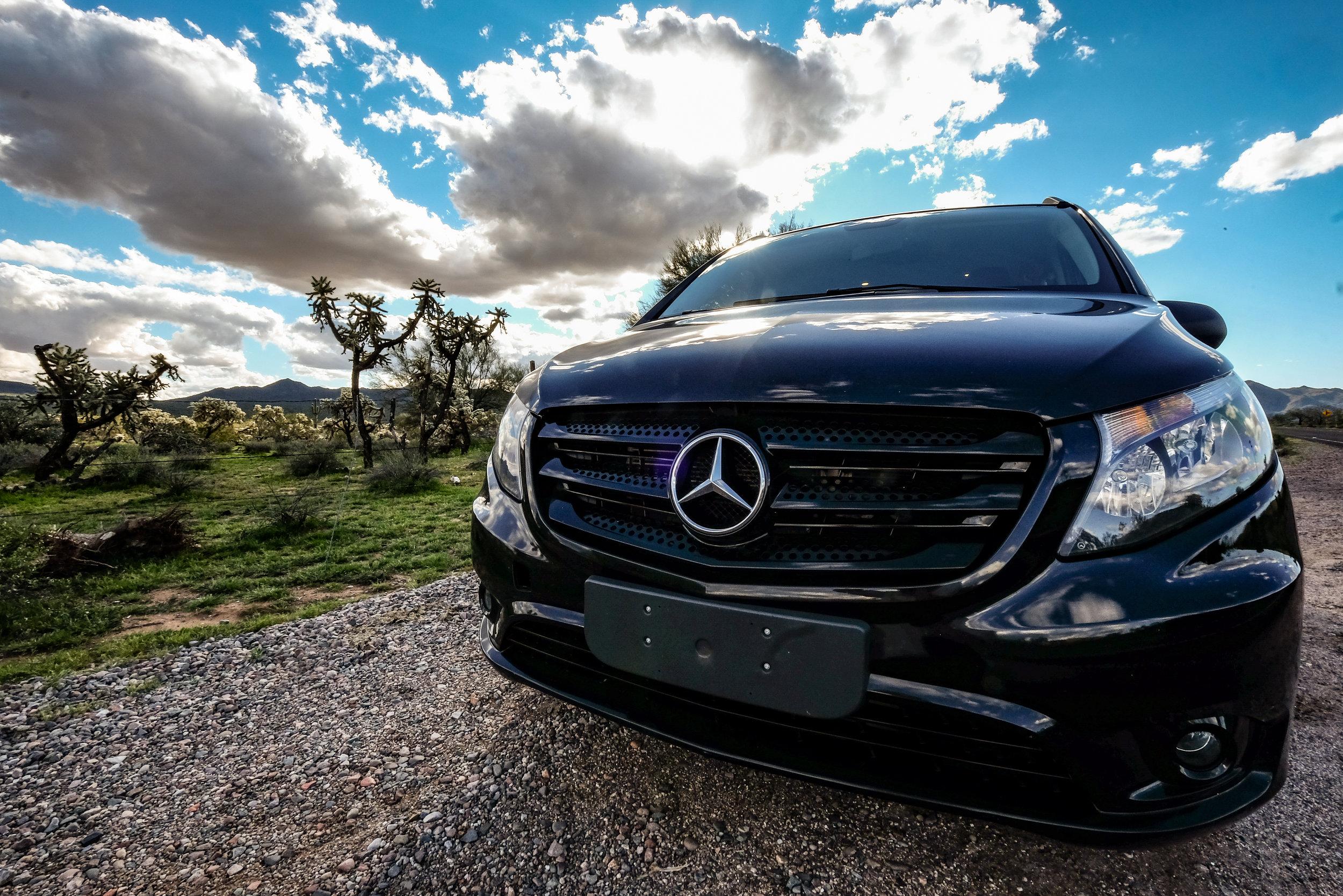 Mercedes Metris Campervan
