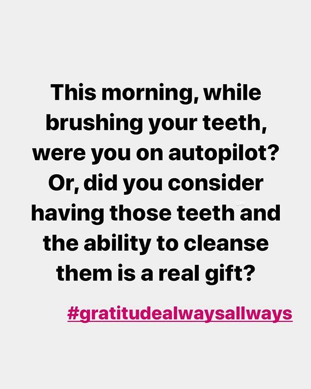 Gratitude. Pause. Presence.