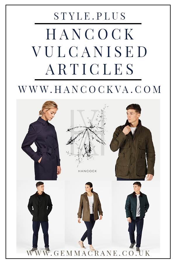 Gemma Crane for Hancock Vulcanised Articles Outerwear
